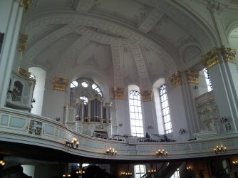 There are multiple organs in this church. What an enormous place.