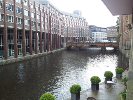 One of the many canals running through the city.