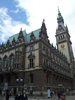 Hamburg Rathaus (City Hall).