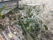 One of the numerous, exquisitely detailed model railway exhibits in Miniatur Wunderland.