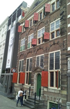 Rembrandt's house.