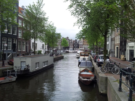 Oh, look! A canal!