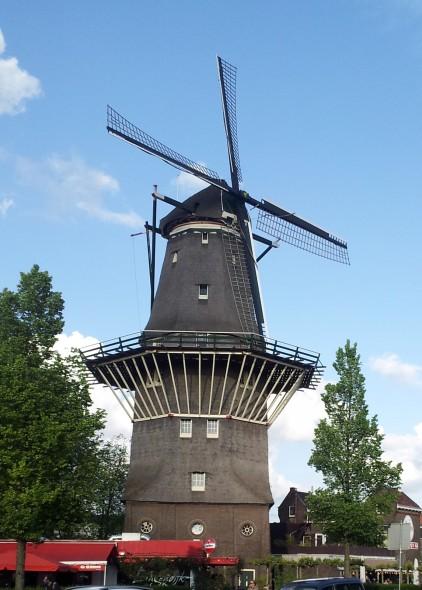 A windmill!