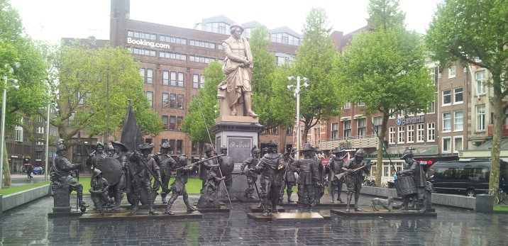 Rembrandt Square.
